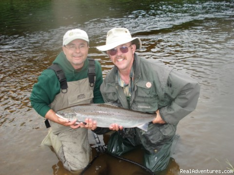 June Atlantic Salmon Miramichi - Fishing Atlantic Salmon