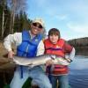 Father Son fishing Miramich