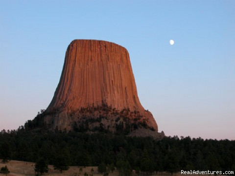 View From Our Hot Tub - Devils Tower Lodge, Bed & Breakfast And Retreat