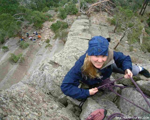 Learning The Ropes, on a PLAYDAY - Devils Tower Lodge, Bed & Breakfast And Retreat