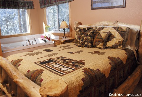 Romantic Colorado Getaway - Rocky Mountain Lodge & Cabins: B&B & Cabin Rentals
