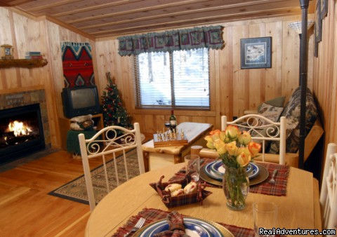 Cascade Luxury Suite - Rocky Mountain Lodge & Cabins: B&B & Cabin Rentals