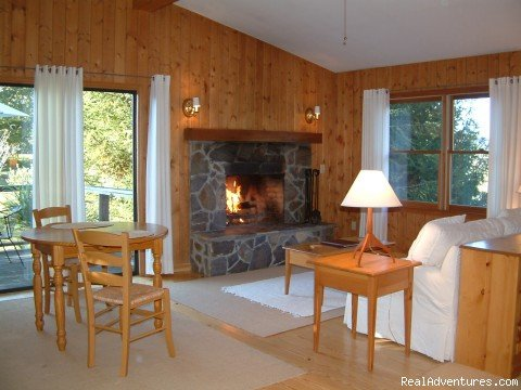 Cullasaja Cabin at Fire Mountain | Image #2/4 | Fire Mountain Inn & Cabins