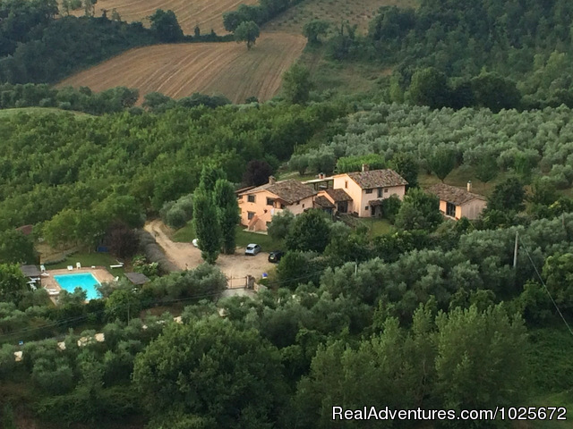 Charming apartment in villa with breathtaking view Vacation Rentals Todi, Italy