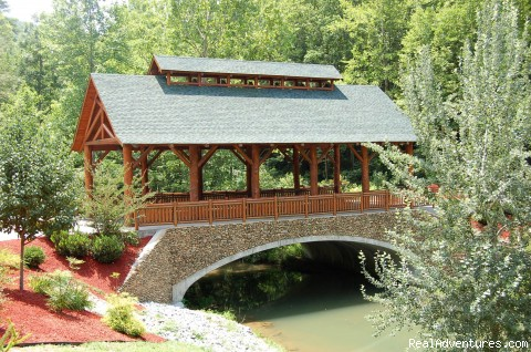 Smoky Mountain Ridge Covered Bridge (#2 of 4) - We Make Dreams Happen at Smoky Getaways, LLC