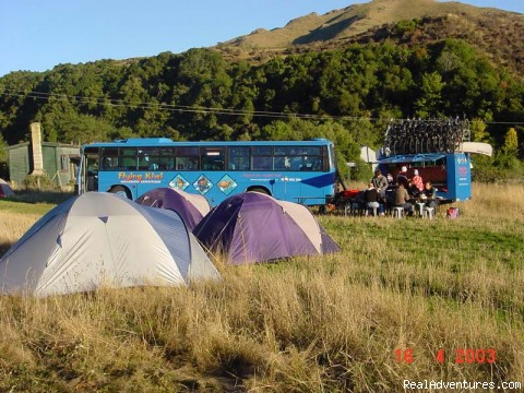 Flying Kiwi Wilderness Expeditions Bike Tours New Zealand, New Zealand