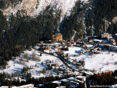 Courchevel 1650 from above - La Marmotte penthouse duplex