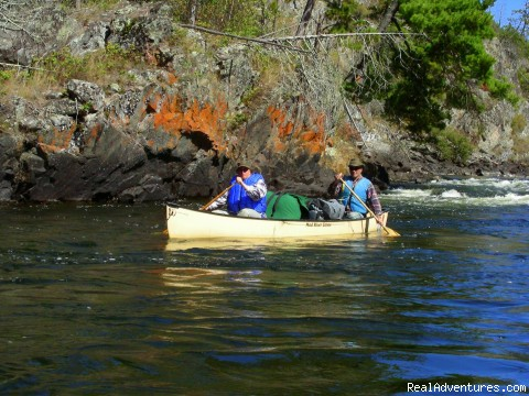 Enjoying the wilderness - Canoe Trips into the Boundary Waters in NE Minn.