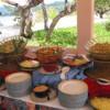 Sunday buffet luncheon on the beach
