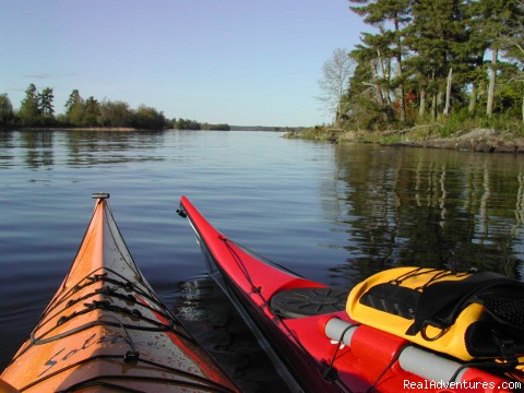 kayaking lessons - Voyageurs Adventures- National Park Tours!