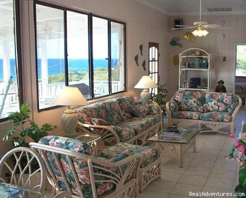 Villa Dawn  - Living room - Caribbean Breeze & Villa Dawn, St. Croix