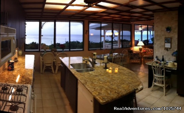 Villa Dawn Gourmet Kitchen - Caribbean Breeze & Villa Dawn, St. Croix