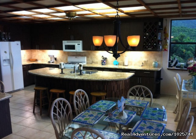 Villa Dawn Kitchen - Caribbean Breeze & Villa Dawn, St. Croix