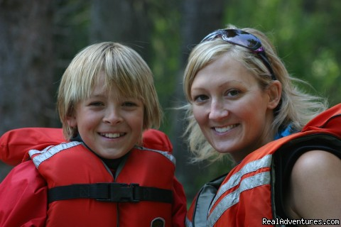 Family Rafting on Kicking Horse River - Whitewater Rafting