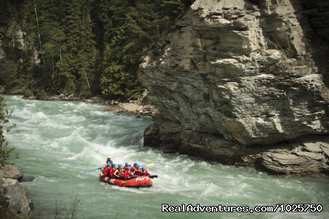 Last Rapid on the Kicking Horse River - Whitewater Rafting