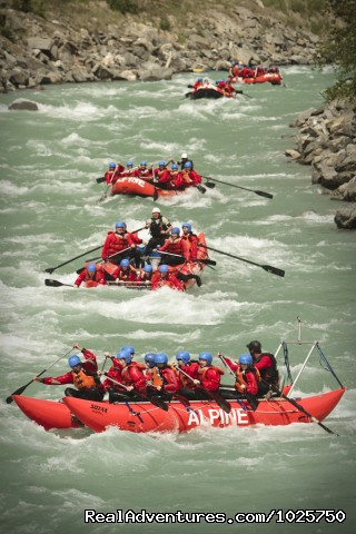 Great Rafting Shot! - Whitewater Rafting