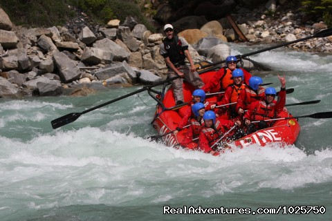 Last Waltz Rapid, Middle Canyon, Kicking Horse River - Whitewater Rafting