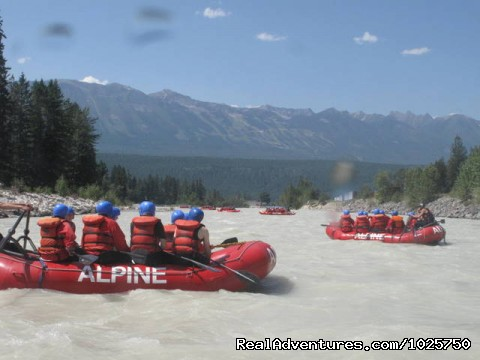 Entering Golden, BC by Raft! - Whitewater Rafting