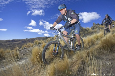 Fat Tyre lead guide Greg  - Mountain bike Heli bike-Fat Tyre New Zealand
