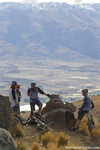 Stuning  scenery Mtb Queenstown - Mountain bike Heli bike-Fat Tyre New Zealand