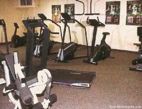 Exercise Room - Executive Suites Extended Stay