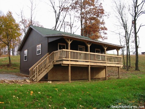 Cabins on Private  Cozy   Rustic Cabins On 134 Acres Overlooking Ohio S