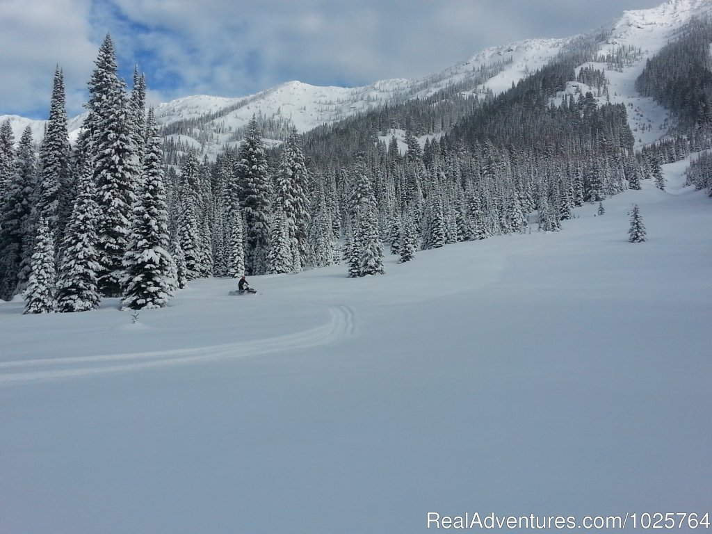 Heart of the Rockies | Image #9/15 | Rich Ranch Winter Snowmobiling Adventures