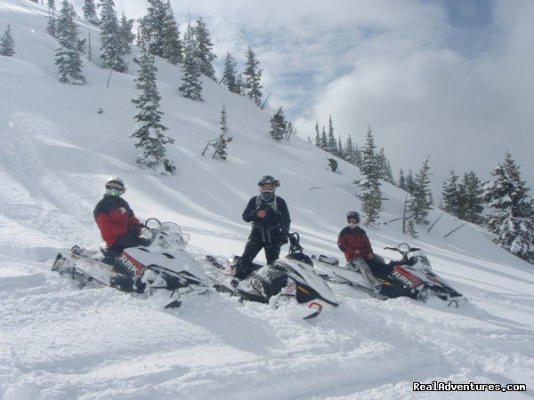 Deep Powder | Image #10/15 | Rich Ranch Winter Snowmobiling Adventures