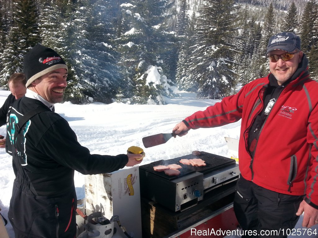 Winter BBQ | Image #12/15 | Rich Ranch Winter Snowmobiling Adventures