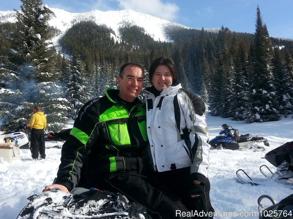 Couples Getaway | Image #15/15 | Rich Ranch Winter Snowmobiling Adventures