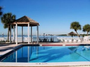 Bemuda Bay... Private bay beach. In unit laundry. Vacation Rentals Saint Petersburg, Florida