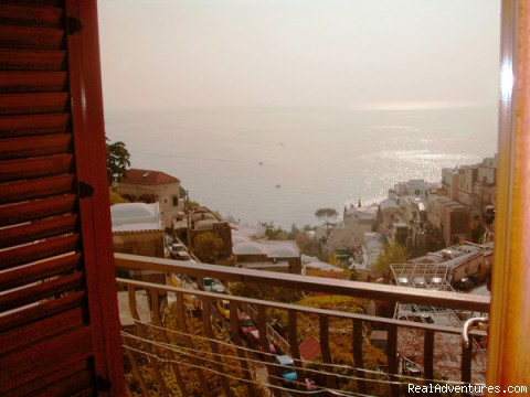 Residence in Positano: Splendid sea-view from the balcony