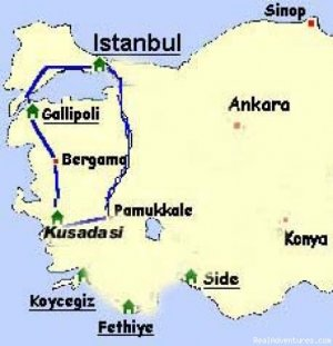 10 Days ANZAC Tour....Includes all entrance fees Aydin, Turkey Sight-Seeing Tours