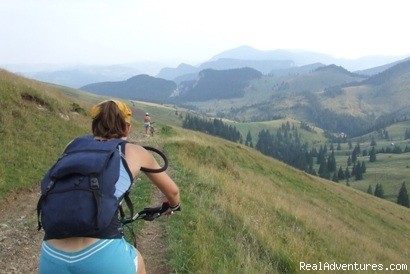 Mountain Biking - Active travel in Romania