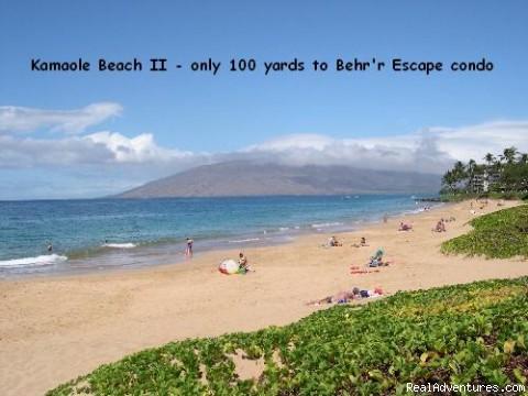 One of Maui's most perfect beaches - Maui Condo Rental by Beach from $80nt -Kihei Maui
