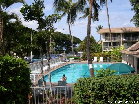 Lounge by the pool, go for a swim | Image #3/13 | Maui Condo Rental by Beach from $80nt -Kihei Maui