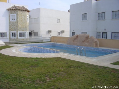 One of Two Communal Pools - 2-Bedroom Apartment in Algorfa