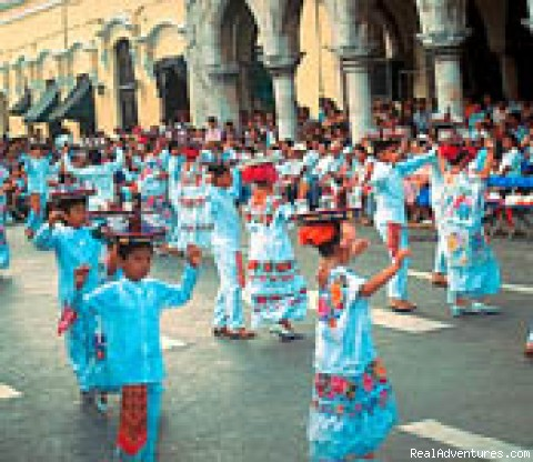 Dancers in Yucatan - Cultural & Educational Tour Programs in Mexico