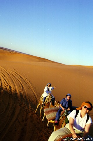 Here We Go!! (#1 of 26) - Camel Trip in Merzouga Sahara Desert Morocco