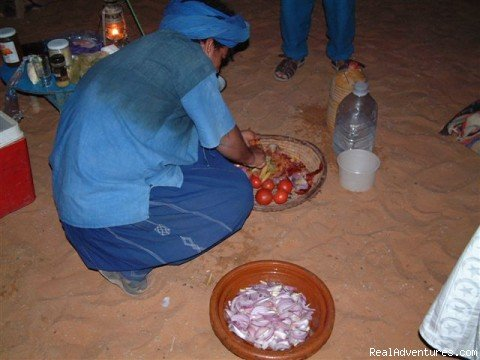 Dinner Is On The Fire!! | Image #6/18 | Camel Trip in Merzouga Sahara Desert Morocco