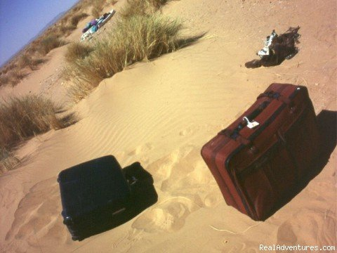 Lost Luggage in the Sahara! | Image #9/18 | Camel Trip in Merzouga Sahara Desert Morocco