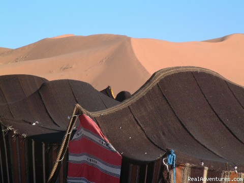 Nomad Tents in Sahara