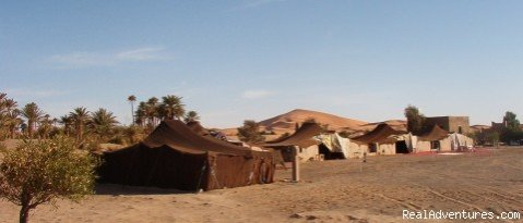 Haven La Chance Hotel Tents | Image #16/18 | Camel Trip in Merzouga Sahara Desert Morocco