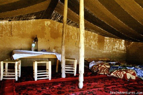 Inside Tents at Haven La Chance Hotel | Image #17/18 | Camel Trip in Merzouga Sahara Desert Morocco