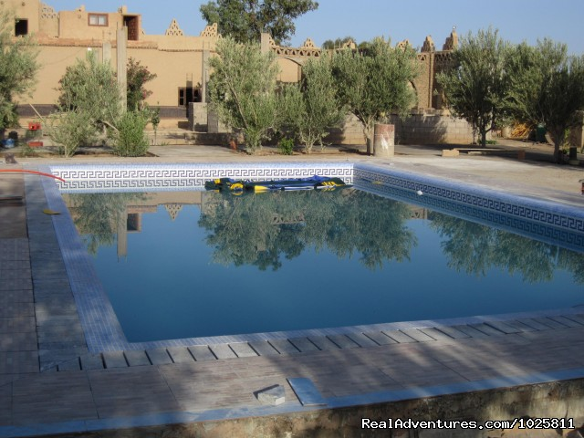 Our New Swimming Pool  (#2 of 26) - Camel Trip in Merzouga Sahara Desert Morocco