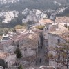 exclusive B&B PROVENCE le PRINCE NOIR les BAUX view from the terraced aeras
