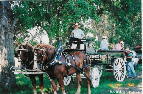 Weddings and Parades - Busted Boot Guest Ranch