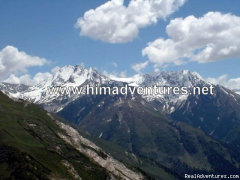 Beas Kund - Guided trekking and climbing in Himalayas.