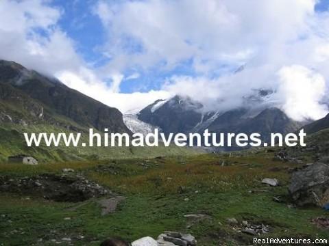 Pindari Glacier - Uttaranchal - Guided trekking and climbing in Himalayas.