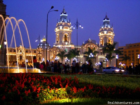 Lima - Plaza Mayor - South American Tours